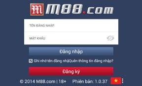 Hướng dẫn cài đặt App Casino M88