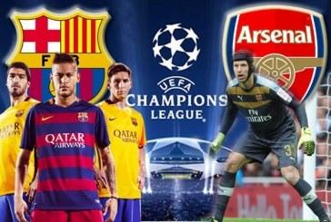 Nhận định bóng đá Barcelona vs Arsenal 17/03/2016 từ M88