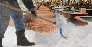 Atlantic City khởi đầu năm 2018 ngập trong tuyết