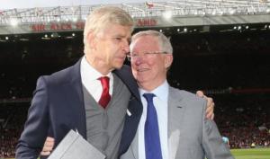 Arsene Wenger gửi thông điệp ủng hộ đến Sir Alex Ferguson
