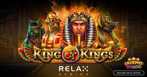 Relax Gaming công bố ra mắt trò chơi máy đánh bạc King of Kings mới