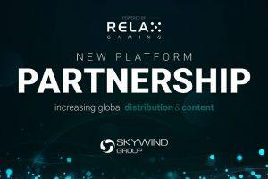 Skywind Group là đối tác nội dung sòng bạc mới nhất của Relax Gaming
