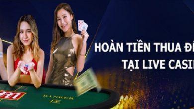 Photo of Nhận hoàn tiền thua cược tại live casino M88 lên tới 15,800 VND