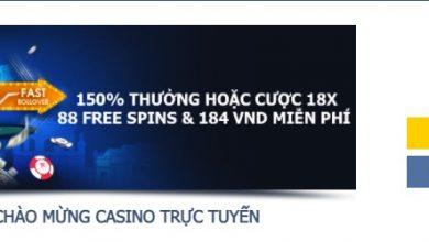 Photo of 150% tiền thưởng thành viên mới tham gia casino trực tuyến